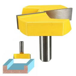 """1/2"""" Shank Surface Planing Bottom Cleaning Router Bit Woodwo"""