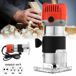 1/4'' Electric Hand Wood Trimmer Router Joiner Laminate Palm