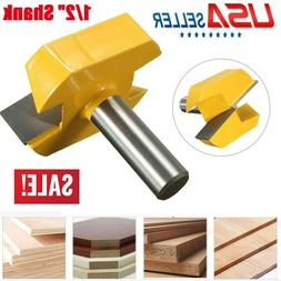 "1 X 1/2"" Shank Dia Bottom Cleaning Router Bit Woodworking Mi"