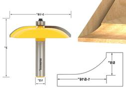 Yonico 12133 Raised Panel Router Bit with Cove Door 3-1/8-In