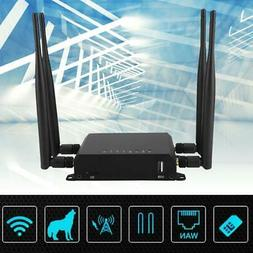 Wireless 4G Router VPN Industrial LTE WIFI Router 2*SIM Card