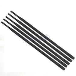 5X Wireless Antenna 9DBI RP-SMA 2.4G 5G Wi-Fi Booster For Ro