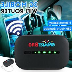 600Mbps 3/4G LTE Portable Wifi Router Mobile Broadband Wirel