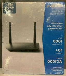 Linksys AC1000 WiFi Router Dual-Band  1.0 Gbps Speed NEW Fac