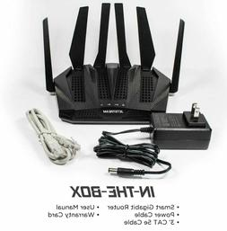 Best Gaming Router Internet WiFi Dual Band 3000 sq ft. Cover