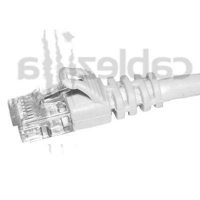 50FT White Patch Cord Ethernet Router