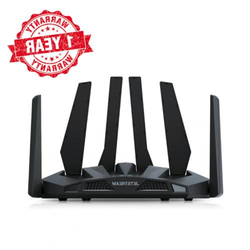 dual band wifi gaming router wide coverage