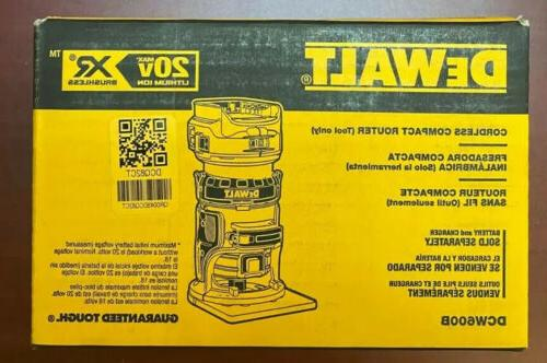 New In Box DCW600B 20 volt Brushless Compact
