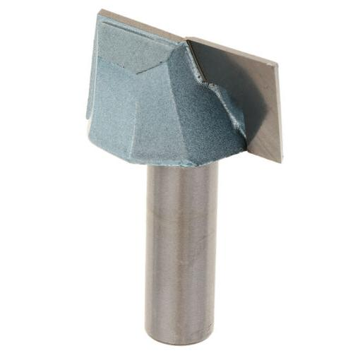 Surface Planing  Router Bit 1-1/2'' Cutting Dia 1/4'' Shank