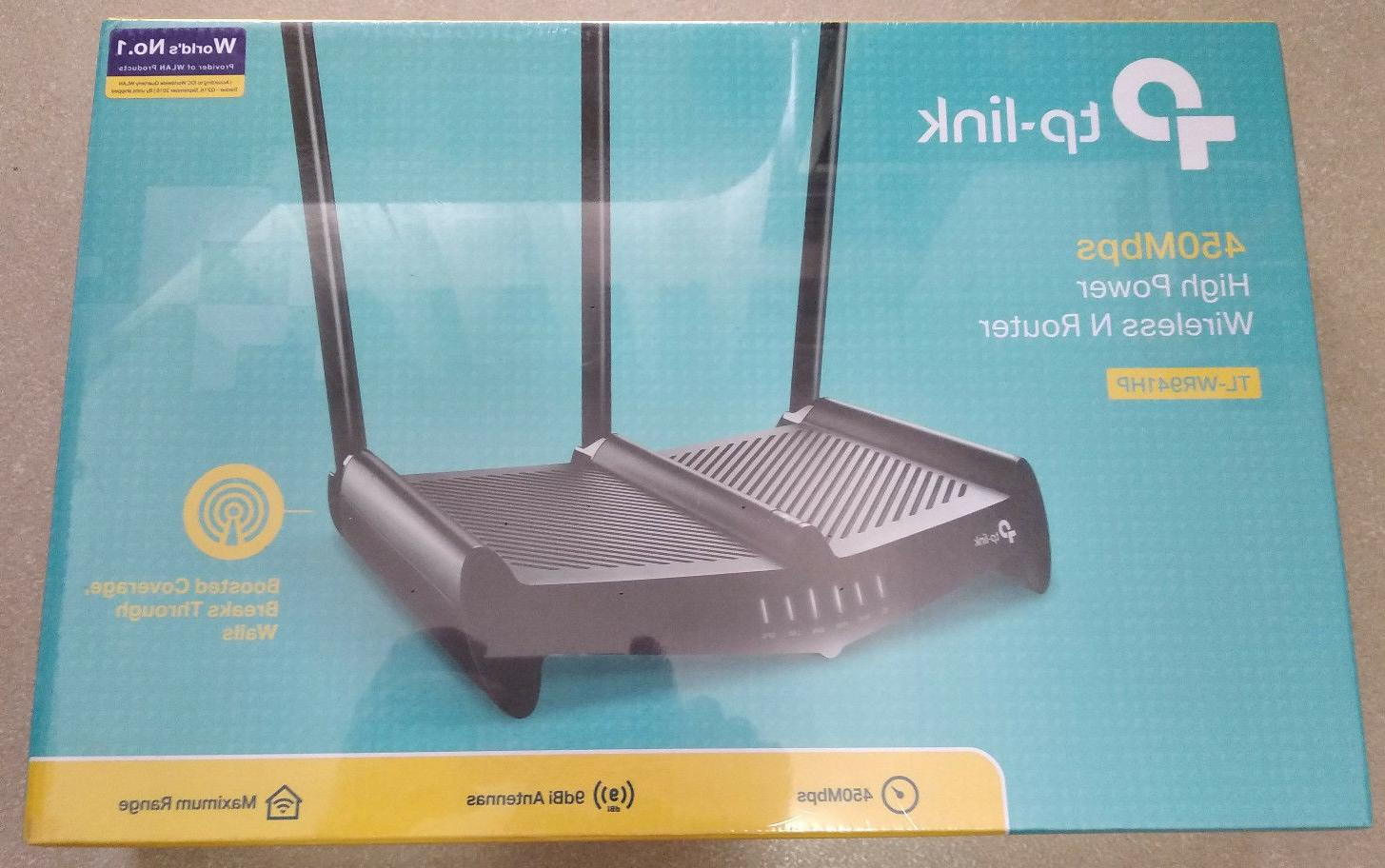 TP-Link TL-WR941HP 450Mbps High Power Wi-Fi Router LAN
