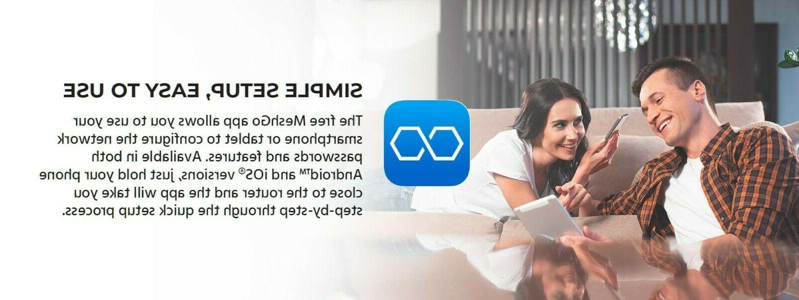 Whole Home System Wi-Fi 2 Extenders
