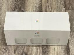 Google Nest Wifi AC2200 System Router & 2 Add On Points Snow