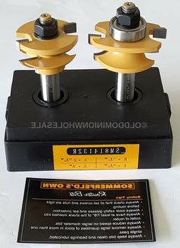 NEW Sommerfelds Tools for Wood SM814132R Router Bit Set