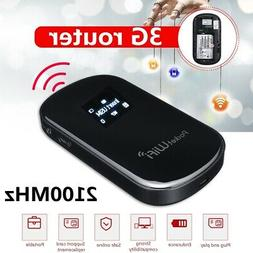 Portable 3/4G Wifi Wireless Router Mobile Broadband Modem Ho