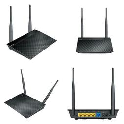 Asus Rt-N12 N300 Wifi Router 2T2R Mimo Technology, 4K Hd Vid