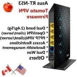 Asus RT-N53 Dual band Wireless N600 Router with Tomato OpenV
