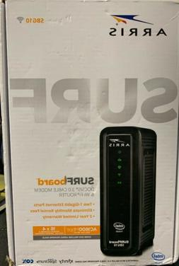 ARRIS SBG10 SURFboard  AC1600 Dual-Band Cable Modem  Router