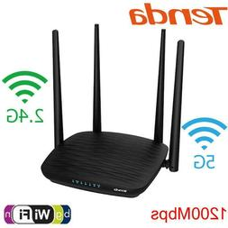 Tenda AC5 Dual Band Wifi Repeater/Router 2.4G/5G 1200M Wirel