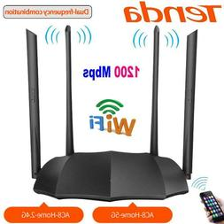 TENDA Dual Band Gigabit Router AC1200 2.4G Wireless Router H