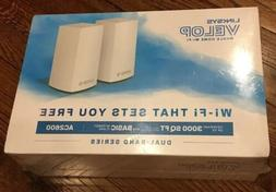 LINKSYS VELOP Whole Home Wi-Fi - AC2600 Coverage up to 3000