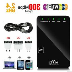 Wireless AP Router WLAN Booster WiFi Repeater For Computer M