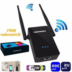 COMFAST Wireless Repeater 300M Network Router WiFi Signal Ra